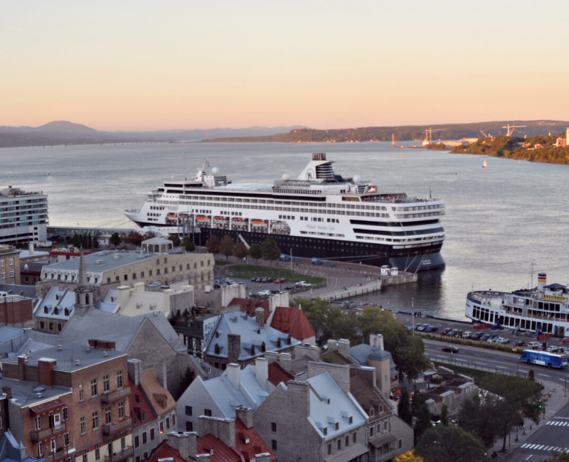 cruise to quebec city